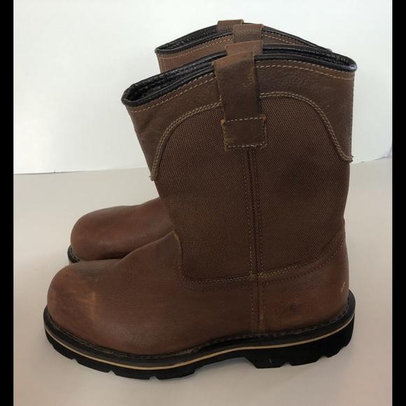 c44aa38253f Brahma Steel Toe Oil Resistant Work Boot 10 W